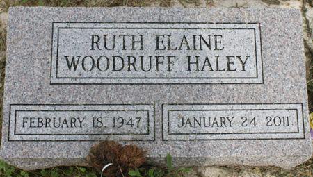 WOODRUFF HALEY, RUTH ELAINE - Page County, Iowa | RUTH ELAINE WOODRUFF HALEY