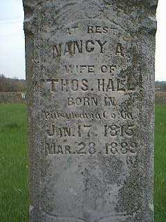 HALL,, NANCY - Page County, Iowa | NANCY HALL,