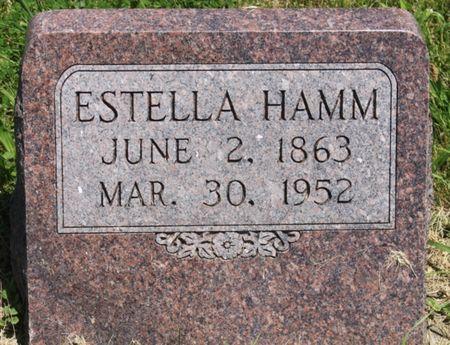 HAMM, ESTELLA CLARA - Page County, Iowa   ESTELLA CLARA HAMM