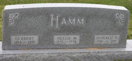 THOMPSON HAMM, NELLIE - Page County, Iowa | NELLIE THOMPSON HAMM