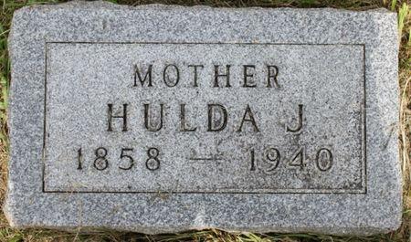 BROWN HAMM, HULDA JANE - Page County, Iowa   HULDA JANE BROWN HAMM