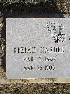 HARDEE, KEZIAH - Page County, Iowa   KEZIAH HARDEE