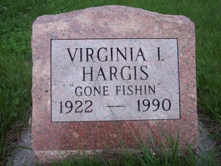HARGIS, VIRGINIA I. - Page County, Iowa   VIRGINIA I. HARGIS