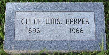 WILLIAMS HARPER, CHLOE - Page County, Iowa | CHLOE WILLIAMS HARPER