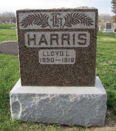 HARRIS, LLOYD L - Page County, Iowa   LLOYD L HARRIS