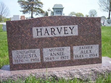 HARVEY, AUGUSTA - Page County, Iowa | AUGUSTA HARVEY