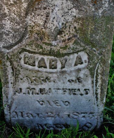 HATFIELD, MARY ANN (FREEL) - Page County, Iowa | MARY ANN (FREEL) HATFIELD