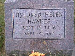 HAWHEE, HYLDRED HELEN - Page County, Iowa | HYLDRED HELEN HAWHEE