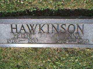 HAWKINSON, PETER - Page County, Iowa | PETER HAWKINSON