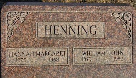 WALKINSHAW HENNING, HANNAH MARGARET - Page County, Iowa | HANNAH MARGARET WALKINSHAW HENNING