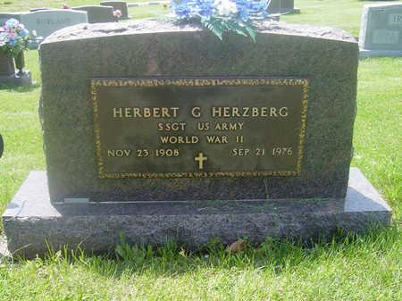 HERZBERG, HERBERT G. - Page County, Iowa   HERBERT G. HERZBERG