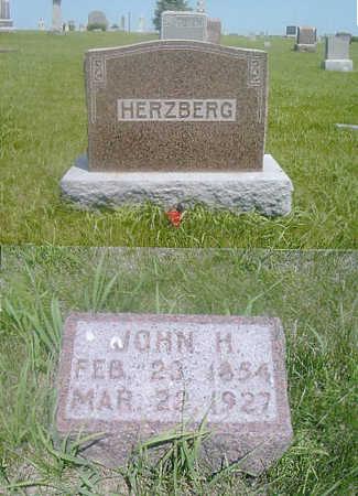 HERZBERG, JOHN HENRY - Page County, Iowa   JOHN HENRY HERZBERG