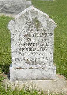 HERZBERG, M.E. WILHELMINE - Page County, Iowa | M.E. WILHELMINE HERZBERG