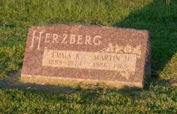 HERZBERG, EMMA  K. - Page County, Iowa   EMMA  K. HERZBERG