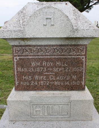 HILL, GLADYS M - Page County, Iowa | GLADYS M HILL