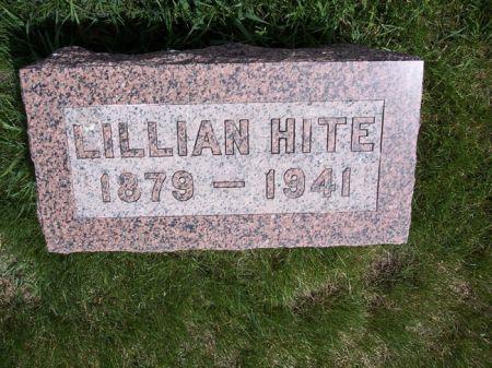 HITE, LILLIAN - Page County, Iowa   LILLIAN HITE