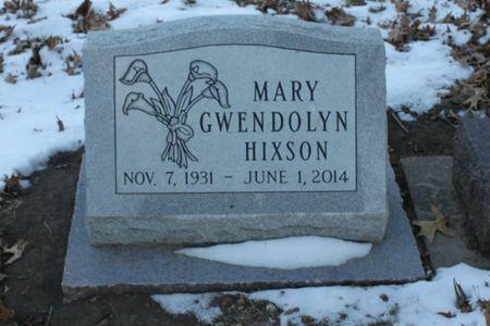 HIXSON, MARY GWENDOLYN - Page County, Iowa | MARY GWENDOLYN HIXSON