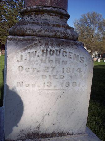 HODGENS, J.W. - Page County, Iowa | J.W. HODGENS