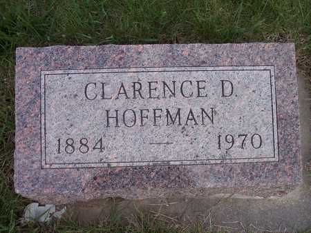 HOFFMAN, CLARENCE D. - Page County, Iowa | CLARENCE D. HOFFMAN
