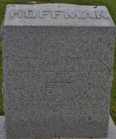 GOOD HUFFMAN, MAGDALENA - Page County, Iowa | MAGDALENA GOOD HUFFMAN