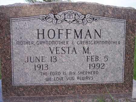 HOFFMAN, VESTA M. - Page County, Iowa   VESTA M. HOFFMAN