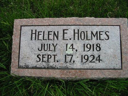 HOLMES, HELEN - Page County, Iowa | HELEN HOLMES