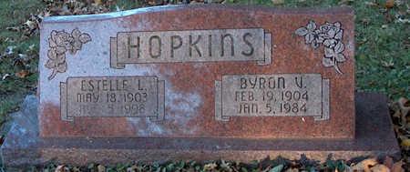 HOPKINS, BYRON V - Page County, Iowa   BYRON V HOPKINS