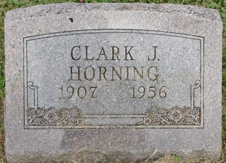 HORNING, CLARK J - Page County, Iowa | CLARK J HORNING