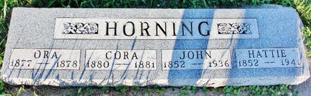 HORNING, CORA MAY - Page County, Iowa | CORA MAY HORNING