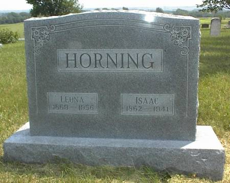 HORNING, LEONA - Page County, Iowa | LEONA HORNING