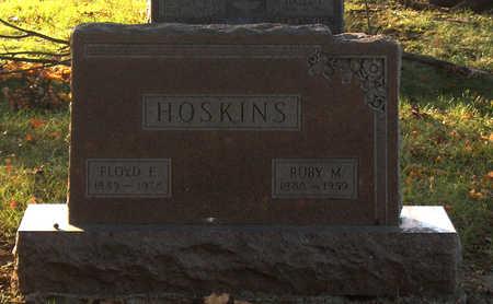 HOSKINS, RUBY M - Page County, Iowa | RUBY M HOSKINS