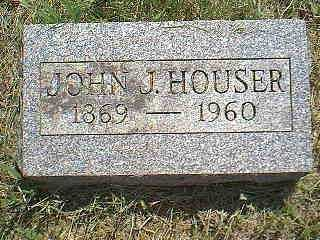 HOUSER, JOHN J. - Page County, Iowa   JOHN J. HOUSER