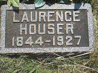 HOUSER, LAURENCE - Page County, Iowa   LAURENCE HOUSER