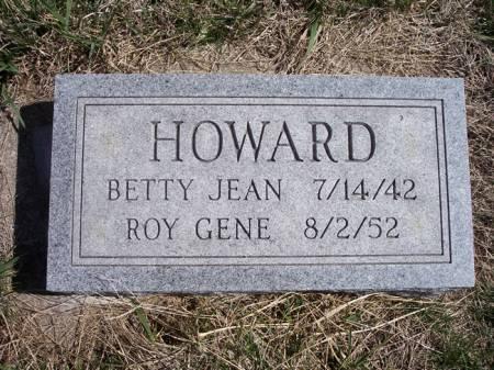 HOWARD, ROY GENE - Page County, Iowa | ROY GENE HOWARD