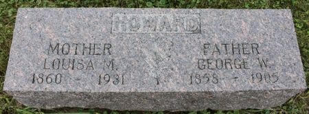HOWARD, LOUISA M - Page County, Iowa | LOUISA M HOWARD