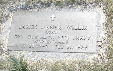 WILLIS, JAMES ABNER - Page County, Iowa | JAMES ABNER WILLIS