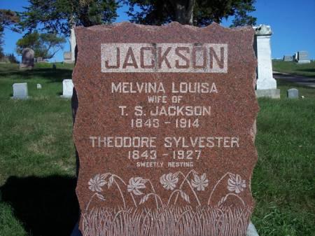 JACKSON, THEODORE SYLVESTER - Page County, Iowa | THEODORE SYLVESTER JACKSON