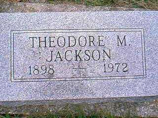 JACKSON, THEODORE M. - Page County, Iowa | THEODORE M. JACKSON