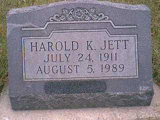 JETT, HAROLD K. - Page County, Iowa | HAROLD K. JETT