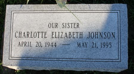 JOHNSON, CHARLOTTE ELIZABETH - Page County, Iowa | CHARLOTTE ELIZABETH JOHNSON
