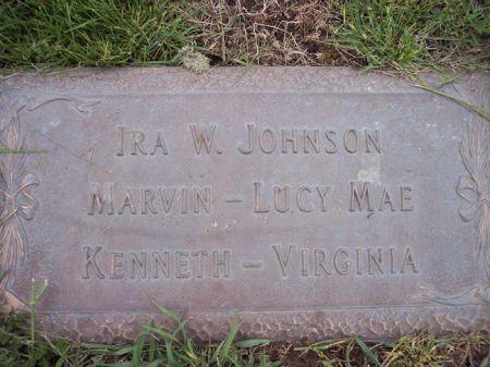 JOHNSON, LUCY MAE - Page County, Iowa | LUCY MAE JOHNSON
