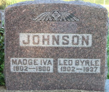 JOHNSON-GIBSON, MADGE IVA - Page County, Iowa | MADGE IVA JOHNSON-GIBSON