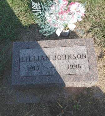 JOHNSON, LILLIAN - Page County, Iowa | LILLIAN JOHNSON