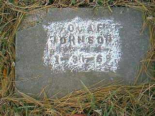 JOHNSON, OLAF - Page County, Iowa | OLAF JOHNSON