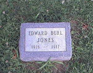 JONES, EDWARD BURL - Page County, Iowa | EDWARD BURL JONES