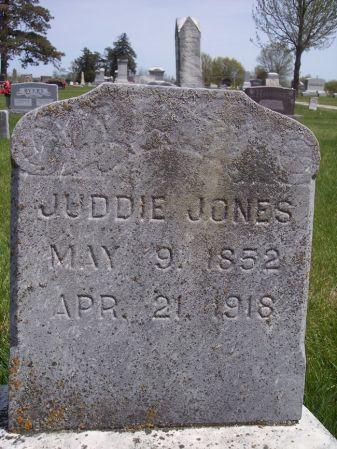 JONES, JUDDIE - Page County, Iowa | JUDDIE JONES