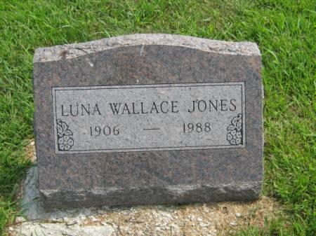 WALLACE JONES, LUNA - Page County, Iowa | LUNA WALLACE JONES
