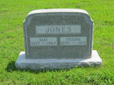 JONES, MAY - Page County, Iowa | MAY JONES