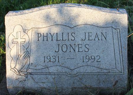 BROWN JONES, PHYLLIS JEAN - Page County, Iowa | PHYLLIS JEAN BROWN JONES