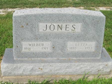 JONES, WILBUR GEORGE - Page County, Iowa | WILBUR GEORGE JONES